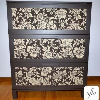 before & after: adam's ikea dresser