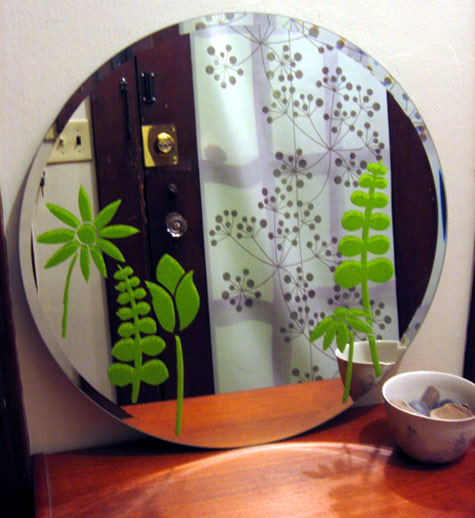 Colors You Can Paint Your Kitchen For Good Feng Shui: Diy Project: Kate's Mirror Stencils