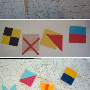 diy project: erica's nautical cards and picks