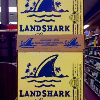 packaging: landshark lager