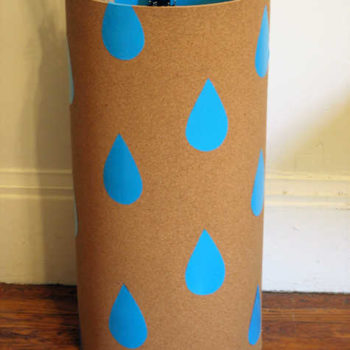diy project: umbrella caddy