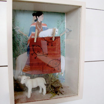 diy video: shadowboxes with moomah