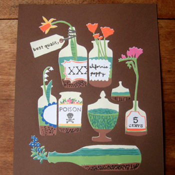 new: small stump print + new d*s guest blogger