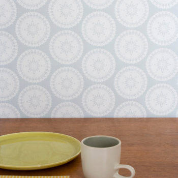 diy wednesdays: wallpaper wipe off board