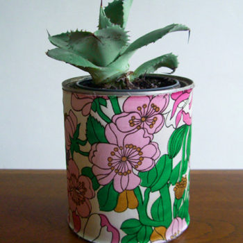 diy project: sabrina's paint can planters