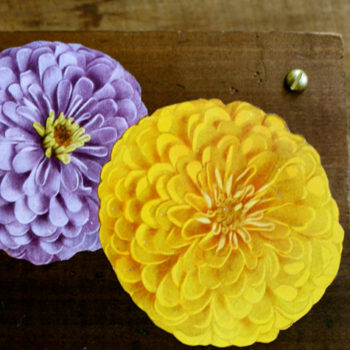 made with love: flower press