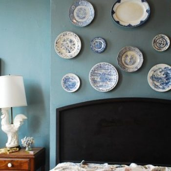 diy video: plate wall display how-to