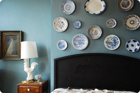 Decorative White Plates For Hanging