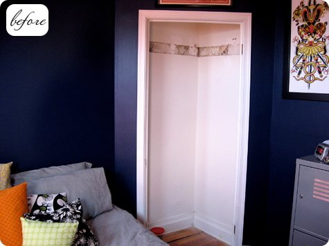 Superieur This Little Jewel Of A Closet Makeover Comes From Heidi Kenney Of My Paper  Crane. Heidi Recently Swapped Bedrooms With Her Older Son To Give Him More  Room ...