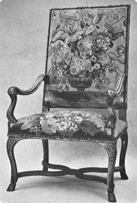 Louis xiv chair hoentschel collection metropolitan museum