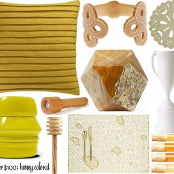 under $100: honey-colored