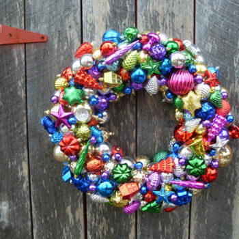 diy project: emily's ornament wreath
