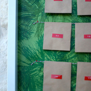 diy project: prudent baby easy advent calendar