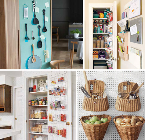 Utensil Photograph From Living Etc, Wall Organizer And Pantry Photographs  From Real Simple, And Pegboard Photograph From Martha Stewart Living.