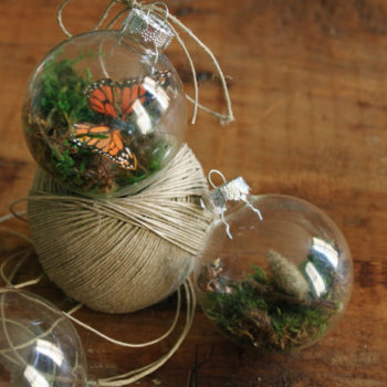 made with love: terrarium ornaments