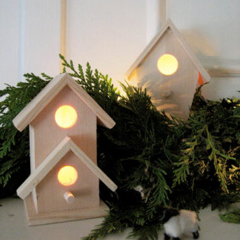 diy project: kate's wooden village