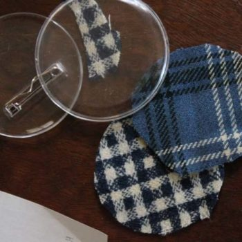 made with love: fabric buttons for haiti