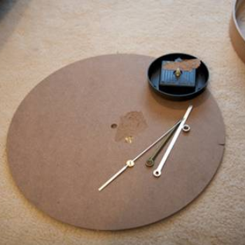 before & after: lucy's clock mirror + how-to