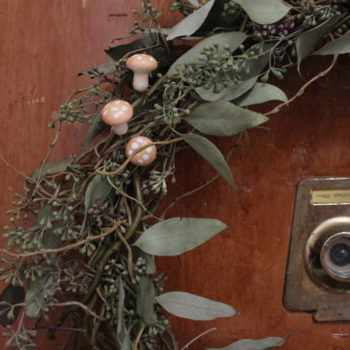 made with love: spring wreath
