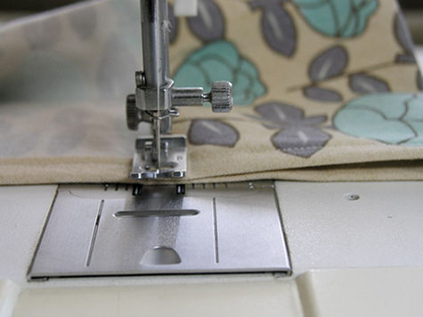Sewing The Curtain Rod Pocket