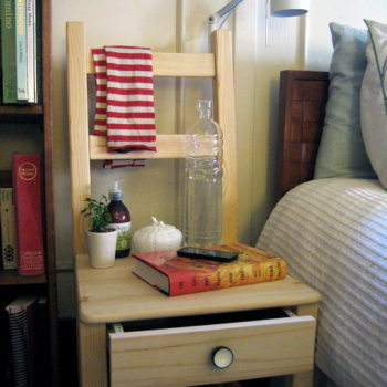diy project: ikea bedside chair