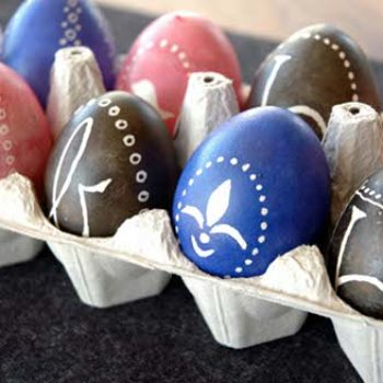 diy project: ukrainian eggs made simple