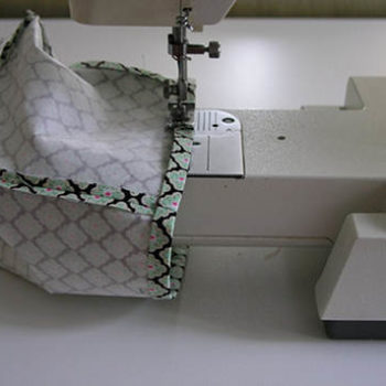 sewing 101: tissue box cover