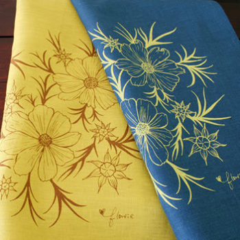 new: flowie 2010 tea towels