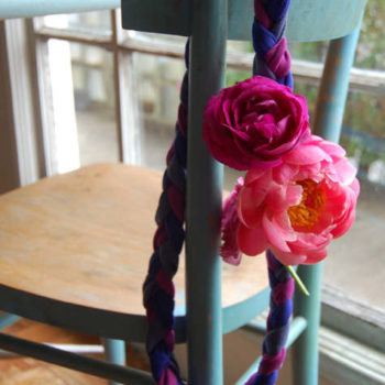 we like it wild: mother's day corsage necklace