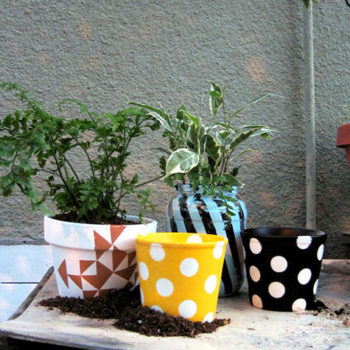 diy project: garden pot pick-me-up