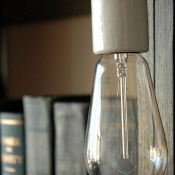 diy project: filament lights
