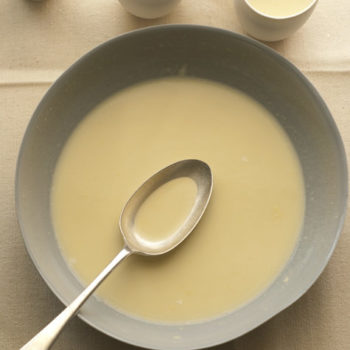 in the kitchen with: trish deseine's white chocolate soup