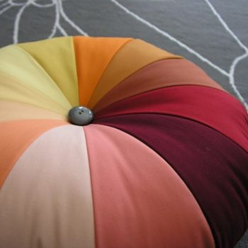 sewing 101: making a pouf