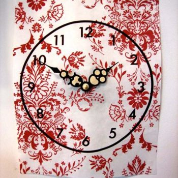 diy project: kate's paper clock