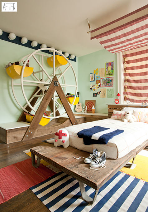 before & after: kate dixon\'s circus room – Design*Sponge