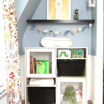 before & after: lauren's nursery