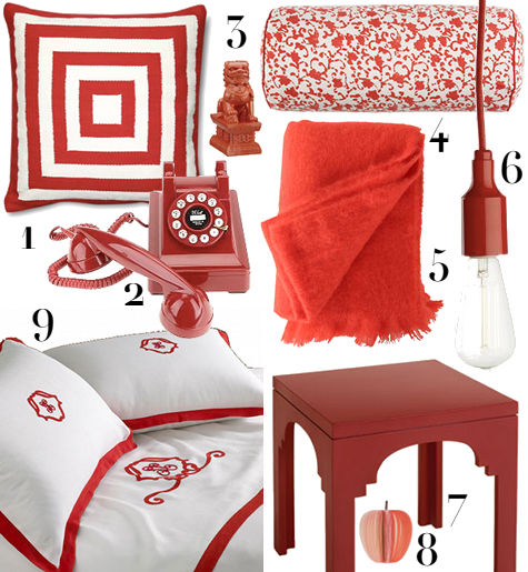 Decorate A Room Adding Finishing Touches: Finishing Touches: My Red + White Bedroom
