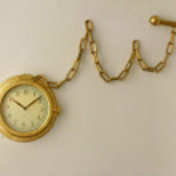 diy project: halligan's pocket watch wall clock