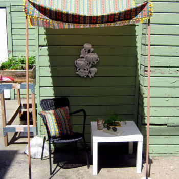 diy project: portable sun shade