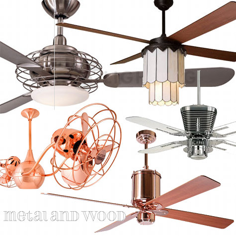 ceiling fan roundup – Design Sponge