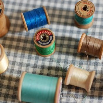 diy project: haylie's spool hooks