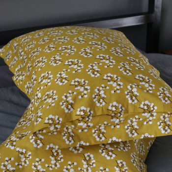 diy project: pillow shams