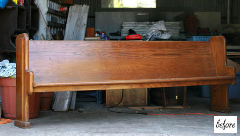 First Before Afters Is Probably One Of My Favorite We Ve Ever Run Partly Because It Combines Two Furniture Types Benches And Headboards