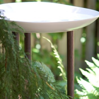 before & after: karen's bird bath + jen's lamp