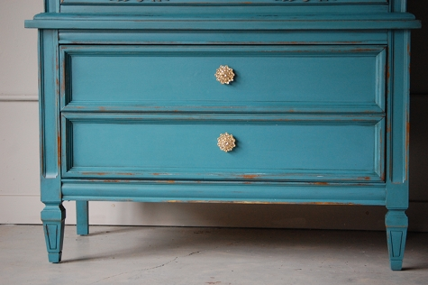 Furniture Wax Over Latex Paint