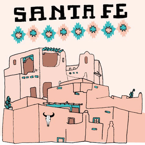 Todayu0027s Santa Fe City Guide Update Comes From San Francisco Artist Lisa  Neimeth. Lisa Created Our Original Guide To Santa Fe In 2008 And Has So  Graciously ...