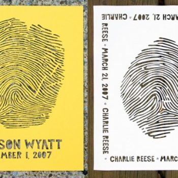 custom fingerprint papercuts