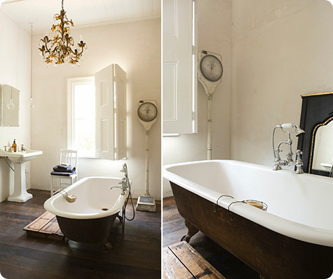 Images Above Two Beautiful Bathrooms From The Melbourne Home Of Lynda Gardner