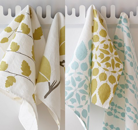 new studiopatró tea towels design sponge