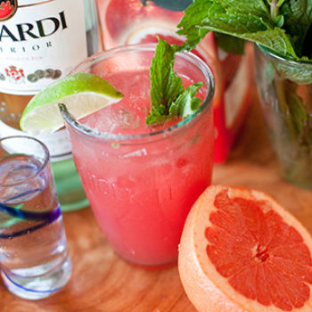 behind the bar: dia and patrick's sardinian blood orange mojito